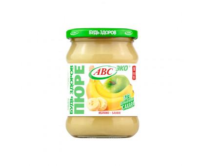Пюре яблочно-банановое АВС 450г