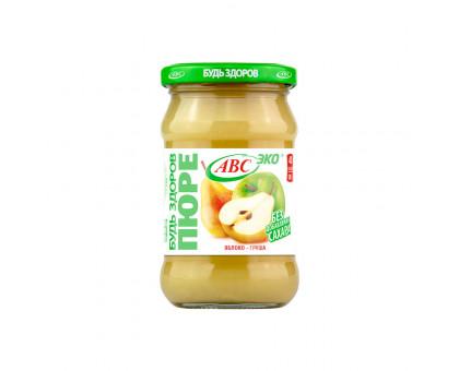 Пюре яблочно-грушевое АВС 280г