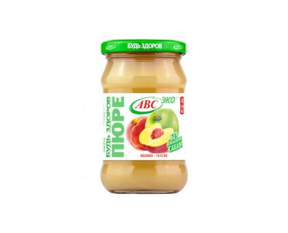 Пюре яблочно-персиковое АВС 280г