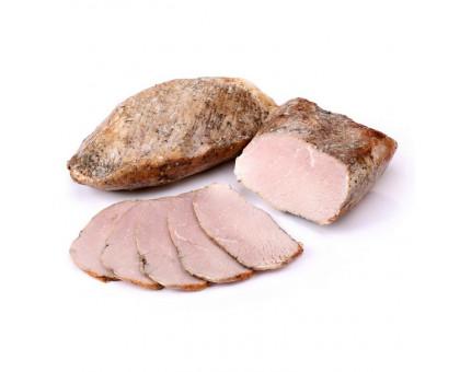 Буженина из печи продукт из мяса свинины запеченый вакуум