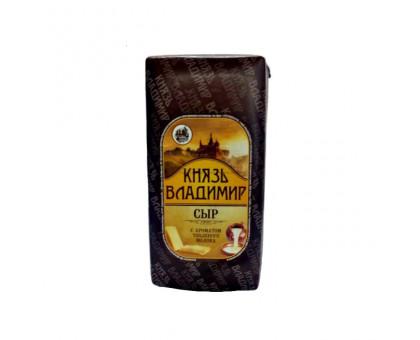 Сыр Князь Владимир 45% (брус) с ароматом топленого молока (Бабушкина крынка)