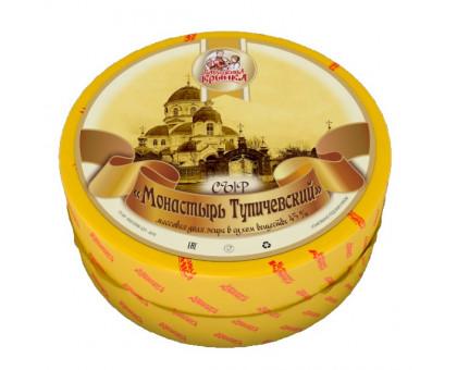 Сыр Тупичевский Монастырь 45% (Бабушкина крынка) круг