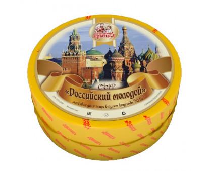 Сыр Российский 50% (Бабушкина крынка) круг