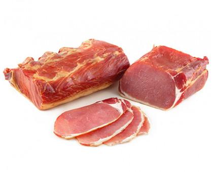 ЛАСУНОК ПО-ГРОДНЕНСКИ ЛЮКС продукт из мяса свинины сырокопченый, вакуум