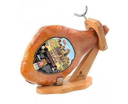 ОКОРОК ГРОДНЕНСКИЙ ОСОБЫЙ продукт из мяса свинины сырокопченый, вакуум