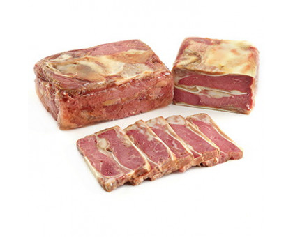 РУЛЕТ АППЕТИНЫЙ ОСОБЫЙ продукт из мяса свинины вареный вакуум