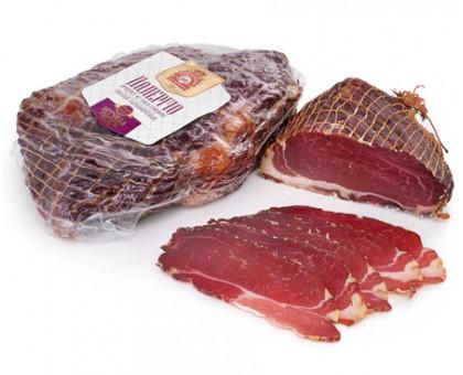 ВЕТЧИНА ПАЛЕРМО, продукт из мяса свинины сырокопченый, вакуум