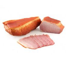 ВЕТЧИНА ПО-ДЕРЕВЕНСКИ ЛЮКС продукт из мяса свинины копчено-вареный вакуум