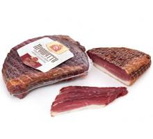 Ветчина Прошутто, продукт из мяса свинины сырокопченный, вакуум