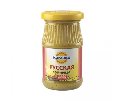 Горчица Русская 170г ст/б КАМАКО