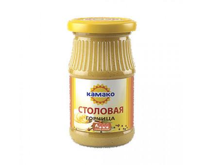 Горчица Столовая 170г ст/б КАМАКО