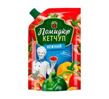"""Кетчуп """"Нежный"""" т.м. Помидюр 270г Дой-Пак КАМАКО"""