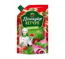 """Кетчуп """"Шашлычный"""" т.м. Помидюр 300г Дой-Пак КАМАКО"""