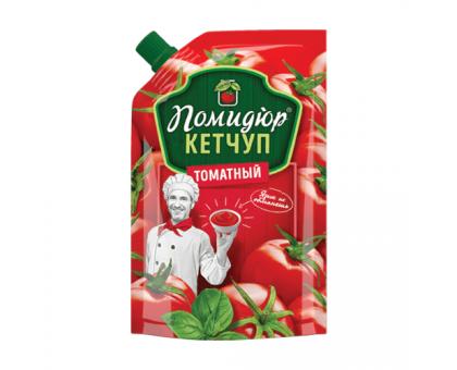 """Кетчуп """"Томатный"""" т.м. Помидюр 270г Дой-Пак КАМАКО"""