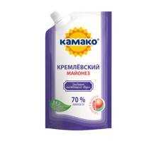 """Майонез """"Кремлевский"""" 70% 400г Дой-пак КАМАКО"""