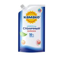 """Майонез """"Провансаль Столичный"""" 50% 385г Дой-пак КАМАКО"""