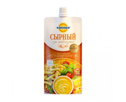 """Майонезный соус """"Сырный"""" 40% 180г Дой-пак КАМАКО"""