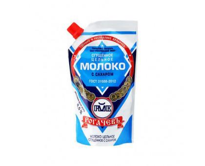 Молоко сгущеное ГОСТ 280г дой-пак Рогачев
