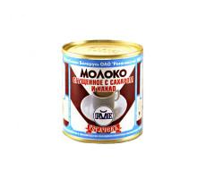 Молоко сгущеное с какао 7,5% 380г ж/б Рогачев