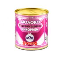 Молоко сгущеное с цикорием 7% 380г ж/б Рогачев