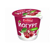 """Йогурт """"Моя Славита"""" п/стакан 140 гр  2%  Вишня"""