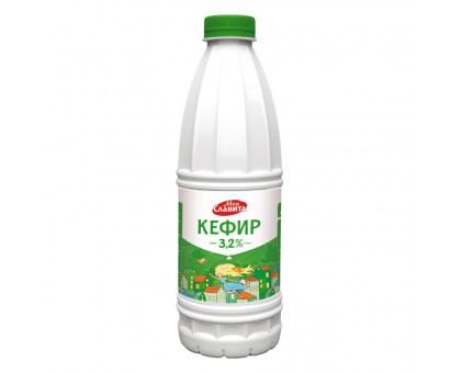 "Кефир ""Моя Славита"" 3,2% 0,9 кг Пэт-бутылка"