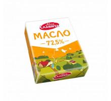 """Масло сливочное 72,5% """"Моя славита"""" 180 г"""