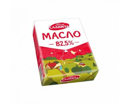 Масло сливочное 82,5% Моя Славита 180 гр