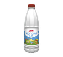 Молоко питьевое ультрапастер   Пэт-бут.  м.д.ж. 2,5% 0,9л
