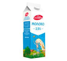 Молоко ультрапастер в пюр-пак с крышечкой м.д.ж. 2,5%  0,9л