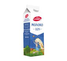 Молоко ультрапастер в пюр-пак с крышечкой м.д.ж. 3,2%  0,9л