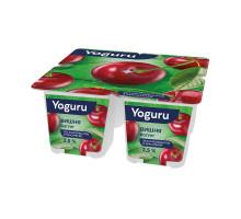 "Йогурт ""Yoguru"" 2,5% стакан 125 г вишня"