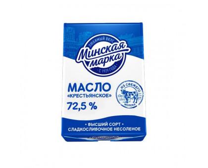 """Масло Крестьянское """"Минская марка"""" 72,5% фольга 180 г"""