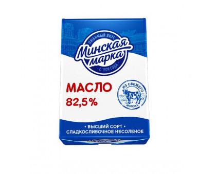 """Масло Крестьянское """"Минская марка"""" 82,5% фольга 180 г"""