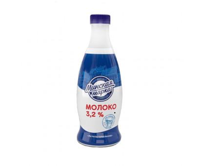 "Молоко ультрапаст. ""Минская марка"" 3,2% ПЭТ-бутылка 0,9 л"