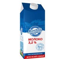 """Молоко паст. """"Минская марка"""" 3,2% пюр-пак 1,5 л"""