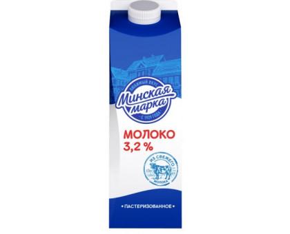 """Молоко паст. """"Минская марка"""" 3,2% пюр-пак 1,0 л"""