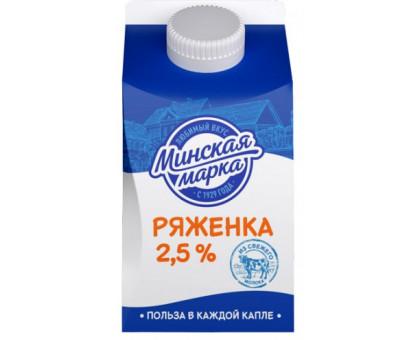 "Ряженка ""Минская марка"" пюр-пак  0,5 кг"