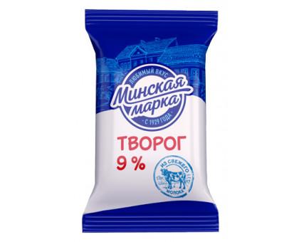 "Творог ""Минская марка"" 9% пленка 180 г"