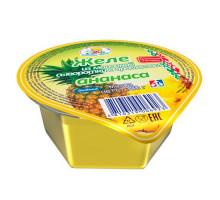Желе на осн. мол. сыворотки стакан 150 г ананас